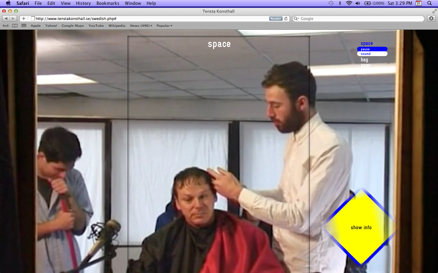 The Haircut Before The Party, Interview with David Graeber, Space—tenstakonsthall.se, 2012